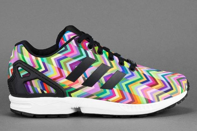 Adidas Zx Flux Multicolor Chevron 1