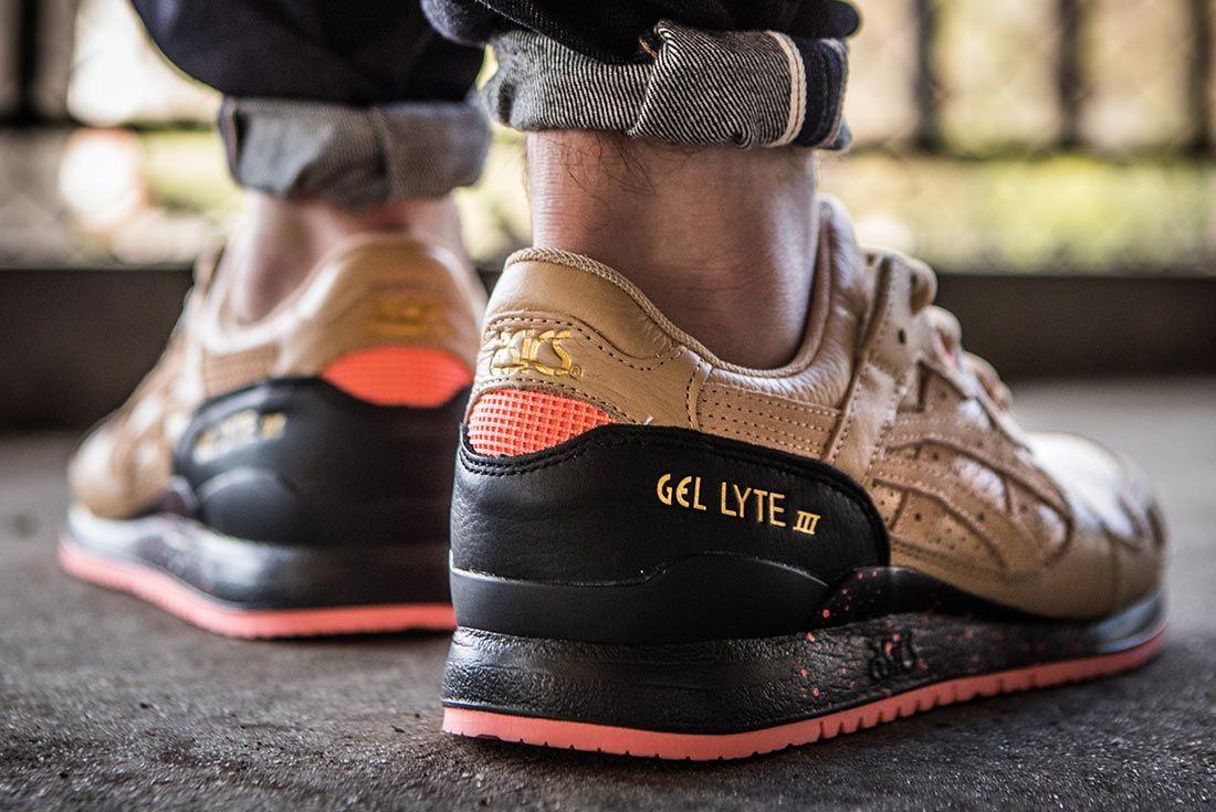 Sneaker Freaker Asics Gel Lyte Iii On Foot Heel