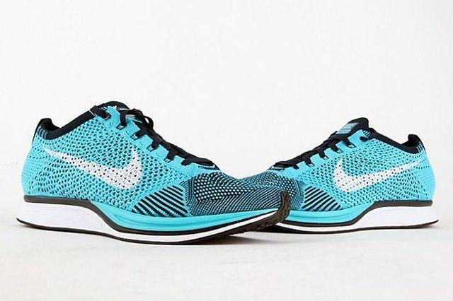 Nike Flyknit Racer Turquoise