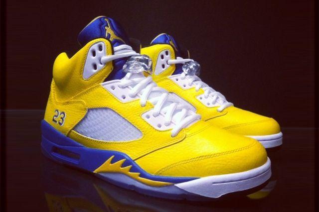 Nike Air Jordan 5 Laney Custom Flip