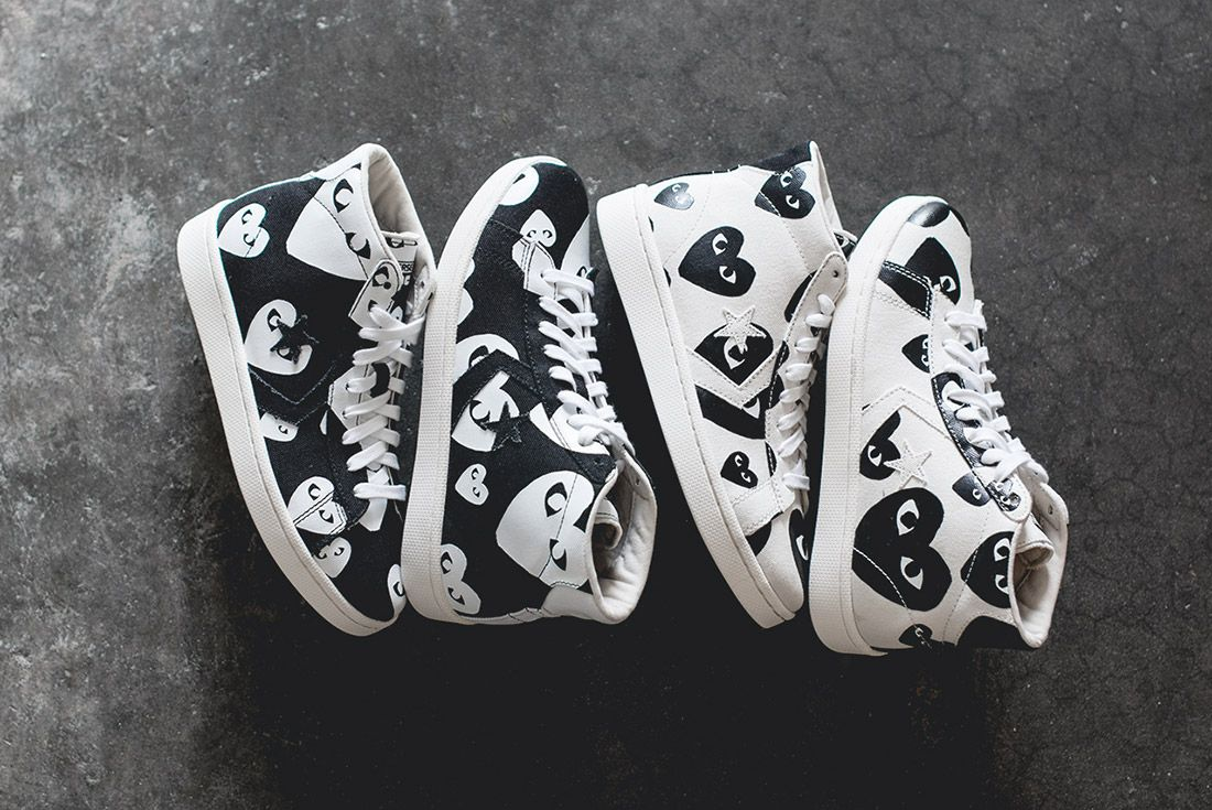 History Converse Pro Leather Comme