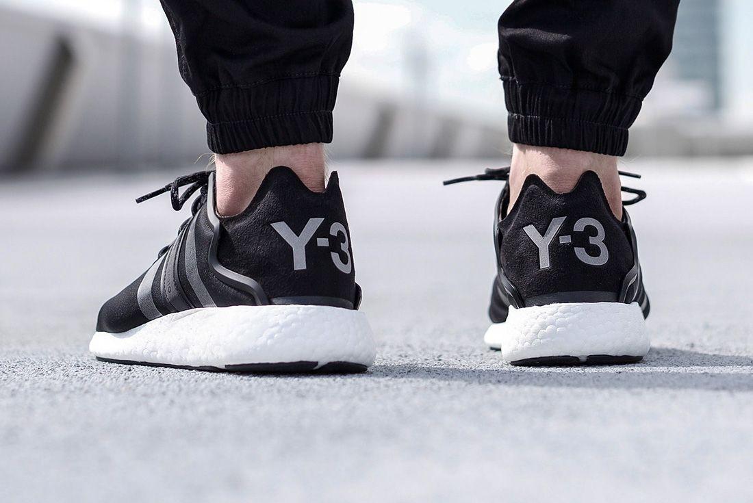 Adidas Y 3 Yohji Run Black Reflective