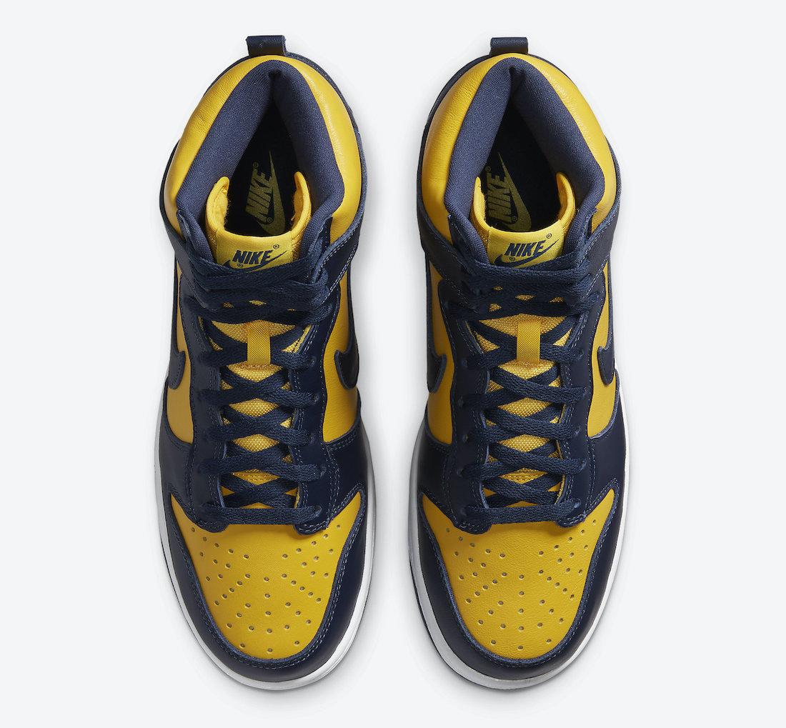 Nike Dunk High Michigan CZ8149-700
