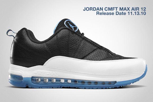Jordan Cmft Max Air 12 Blue 1