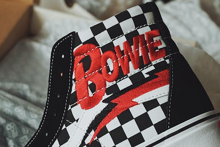 David Bowie X Vans Sk8 Hi Ankle Shot