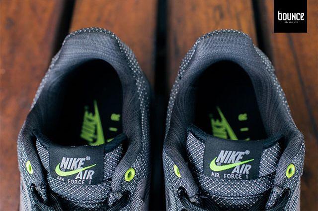 Nike Air Force 1 Vt Jacquard Grey Volt 5
