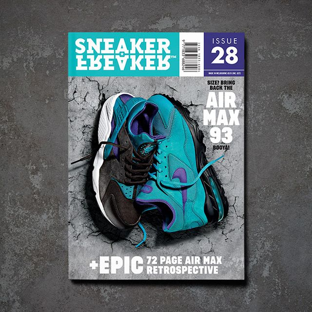 Sneaker Freaker Issue 28 Cover Size Airmax1