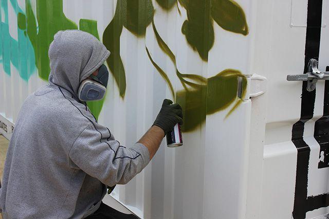 Boxpark Live Graffiti Zombie Dyet Dds 10