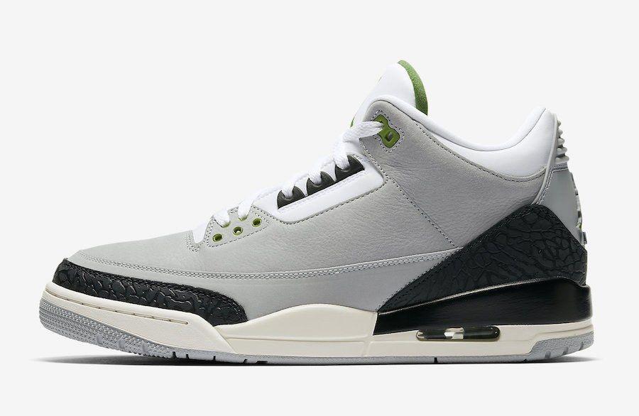 Air Jordan 3 Tinker Chlorophyll 136064 006 Release Date Sneaker Freaker
