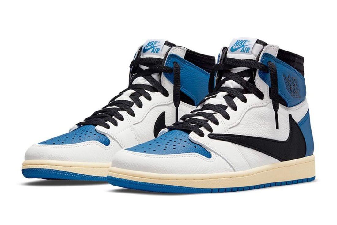 Travis Scott x Fragment x Air Jordan 1 official
