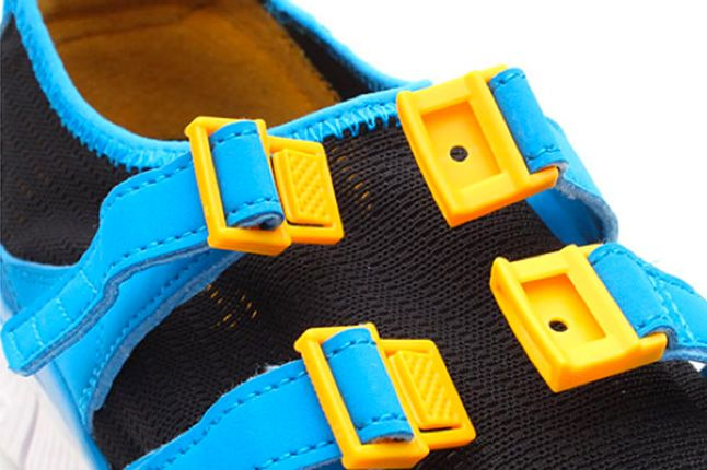 Nike Free Sock Racer Candy Pack Photo Blue Straps 1