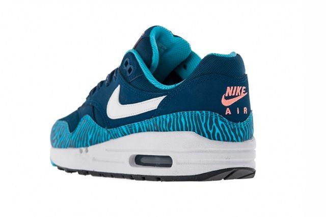 Nike Air Max 1 Gs Brave Blue Tiger 3