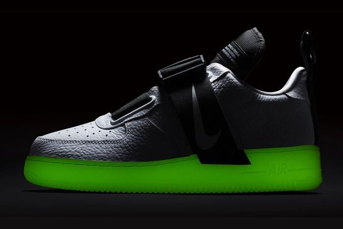 Nike Air Force 1 Glow In The Dark Release
