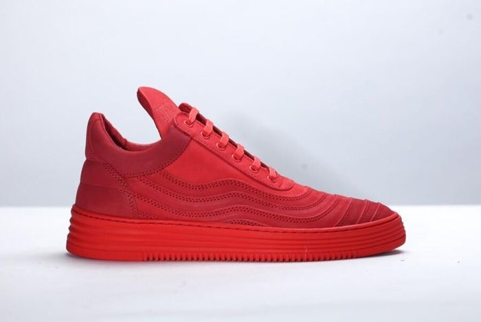 Filling Pieces Low Top All Red 8