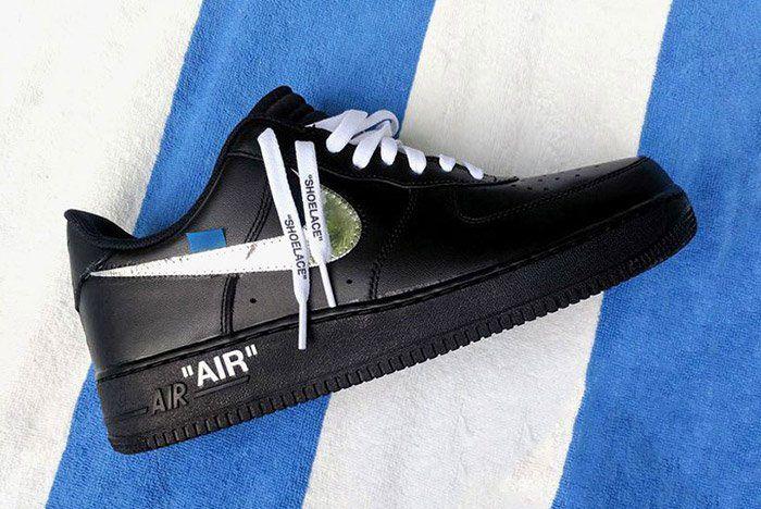 Nike Recap Air Force 1 Off White