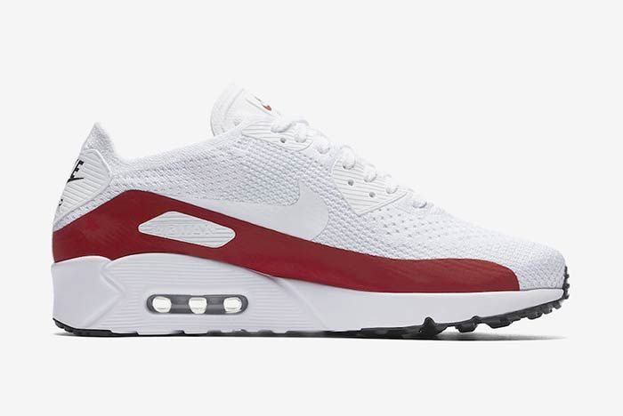 Nike Air Max Ultra 2 0 Flyknit Whitered 2
