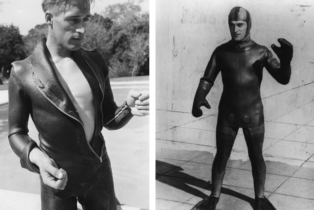 Material Matter Neoprene Early Rubber Wetsuits