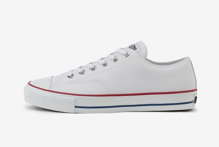 Converse All Star Ox White Golf Lateral 1
