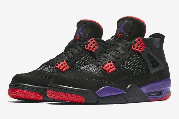 Air Jordan 4 Raptors Pe Drake Left
