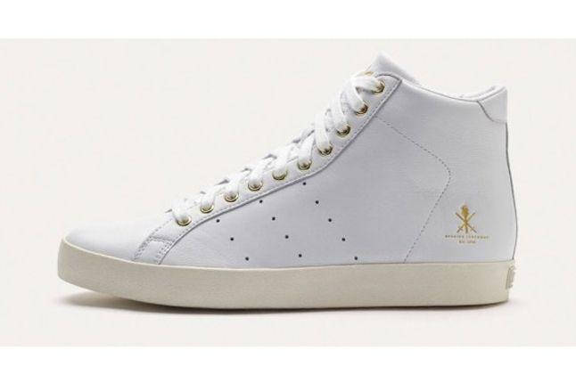 Adidas Og Vintage Rod Laver Hi White Profile 1
