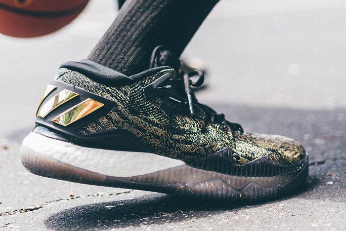 Adidas James Harden Crazylight 2016 Pe Gold Standard 4