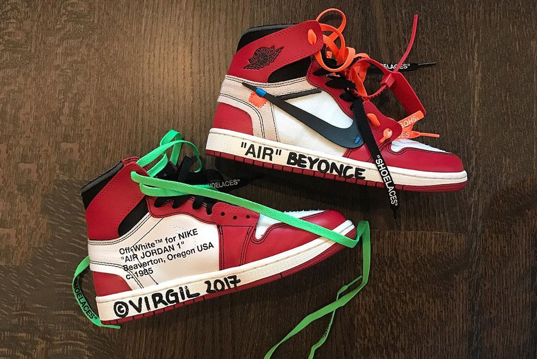 Virgil Abloh Off White Nike Air Jordan 1 Beyonce Power Ranking Sneaker Freaker