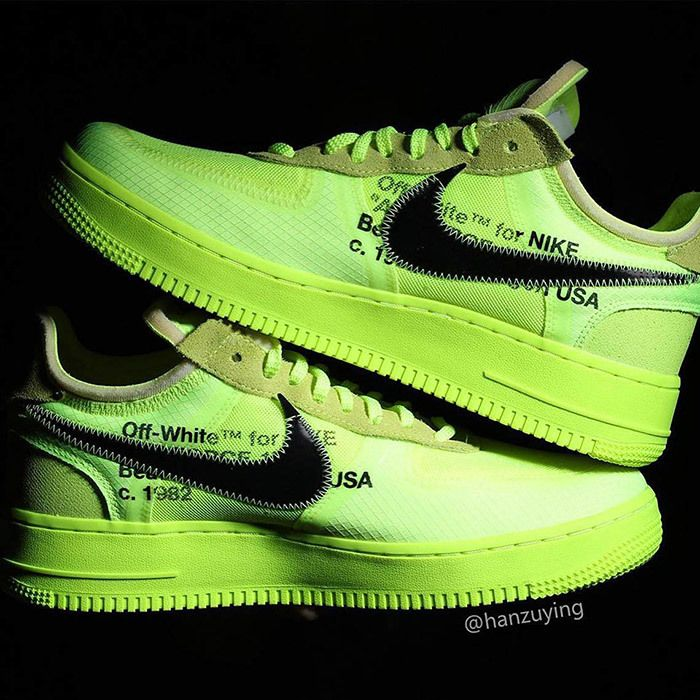 Off White Nike Air Force 1 Low Volt 7