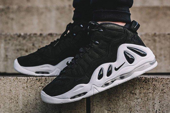 Nike Air Uptempo 97 Black White 2