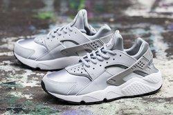 Nike Huarache Wmns Wolf Grey White Thumb