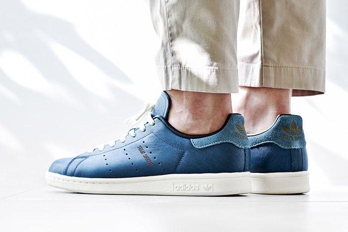 Adidas Stan Smith Horween Indigo Blue 5