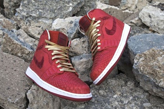 Air Jordan 1 Red Python 2