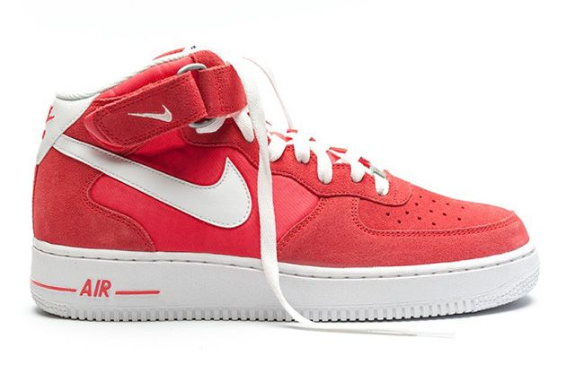 Nike Air Force 1 Mid Fusion Red 3