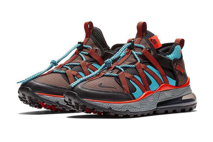 Nike Air Max 270 Bowfin Aqua Red Brown 1