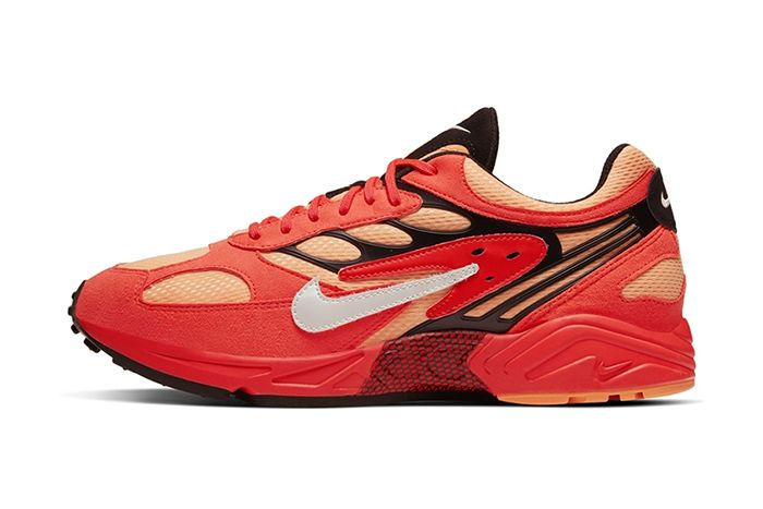 Nike Air Ghost Racer Nyc New York City Marathon Big Apple Red Release Date Lateral