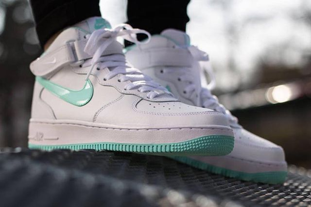 Nike Air Force 1 Mid Gs Whiteartisan Teal