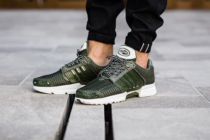 Adidas Clima Cool Base Green On Feet 1