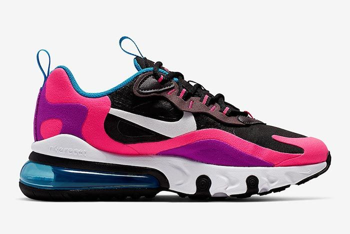 Nike Air Max 270 React Hyper Pink Bq0101 001 Medial Side Shot