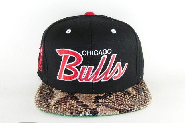 Jbf Custom Cap Chicago Bulls 3 1