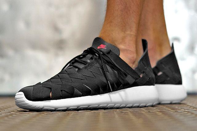 Nike Roshe Run Woven Fuchsia Force1