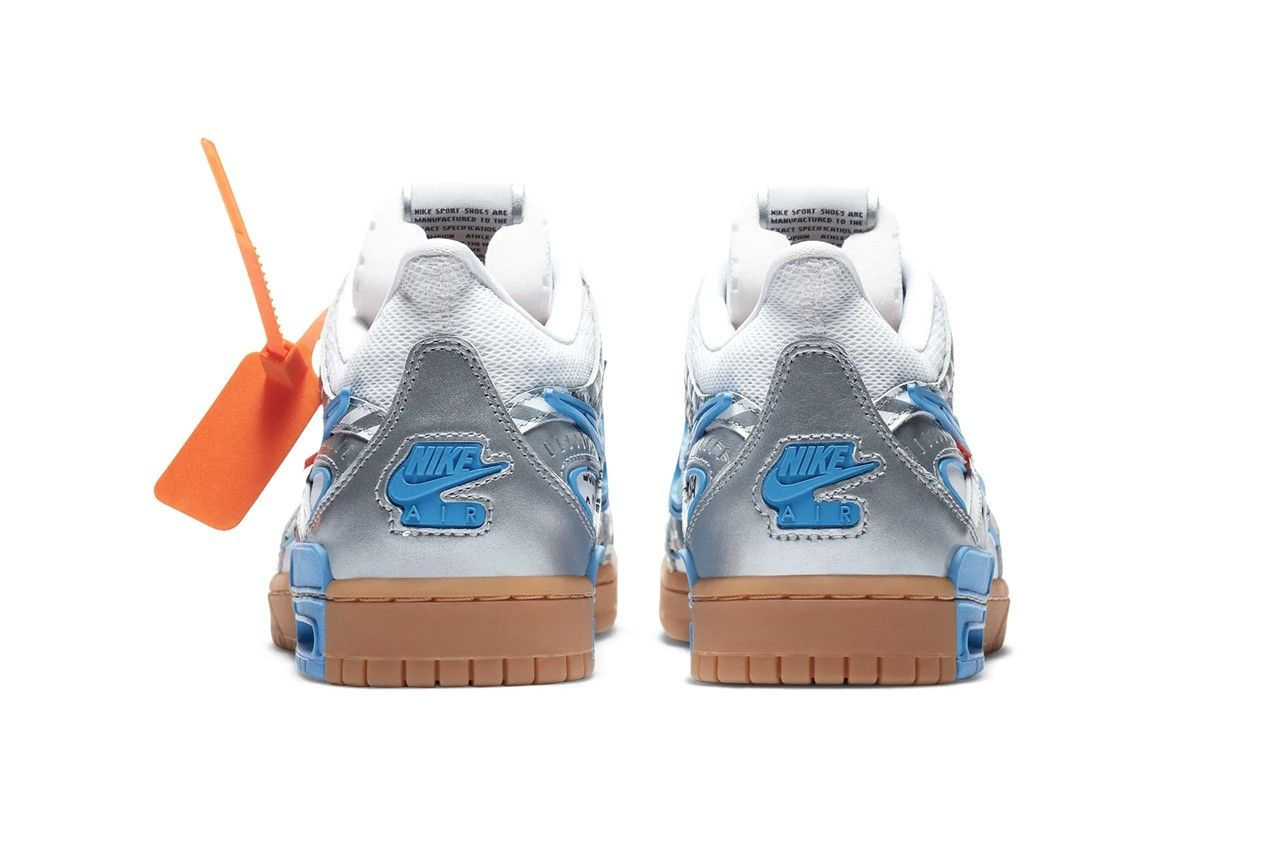 Off-White x Nike Rubber Dunk 'University Blue'
