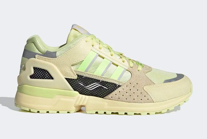 Adidas Zx 10000C Yellow Tint Right