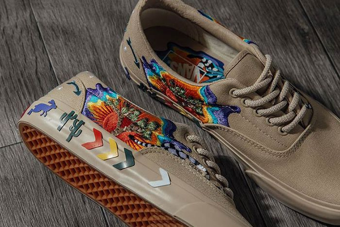 Vans Era Desert Embellish Tan 2