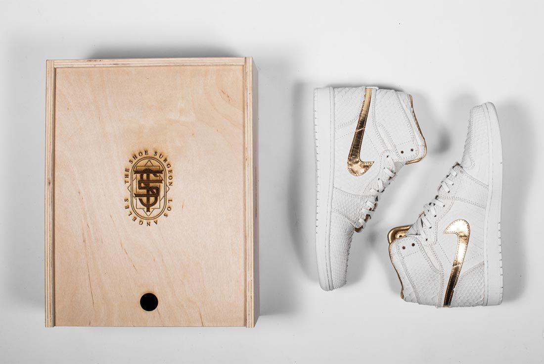 Dj Khaled Shoe Surgeon Air Jordan 1 Custom 1 Of 1 Side Shot 1