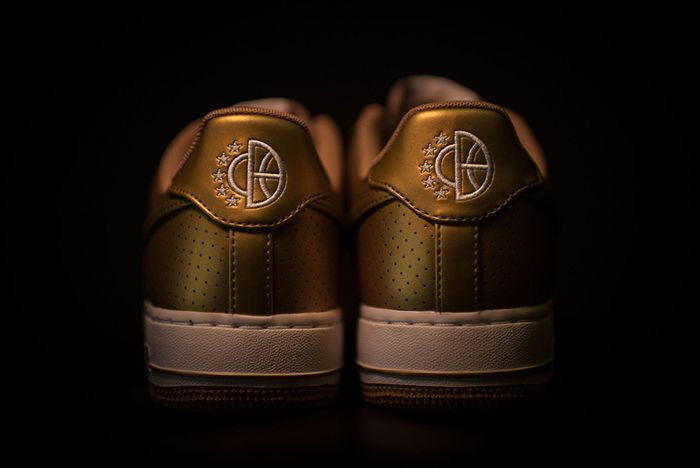 Nike Air Force 1 Dream Team Pack 1 Gold 4