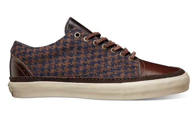 Vault By Vans X Harris Tweed Fall Holiday 2012 Old Skool Ht Decon Lx Bronze Khaki 1