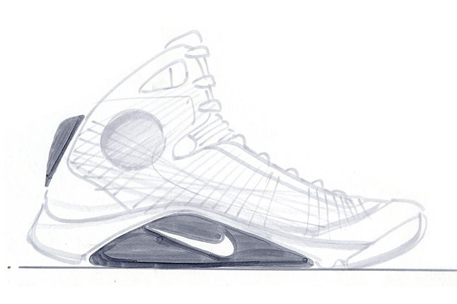 The Making Of The Nike Air Hyperdunk 6 1