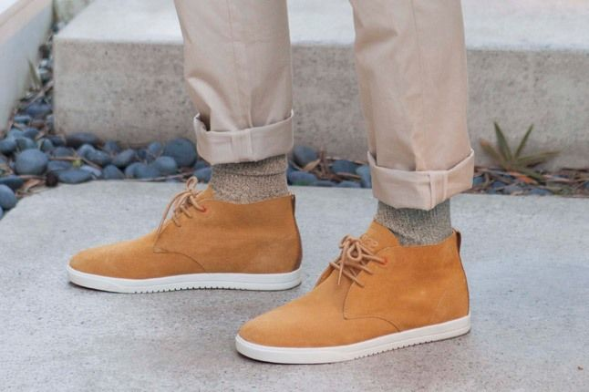 Clae Spring Collection Tan Desert Boot 1