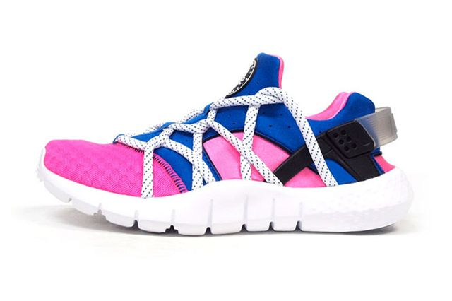Nike Air Huarache Nm Royal Blue Pink Flash