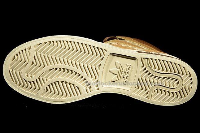 Adidas Top Court Camo Khaki Sole 1