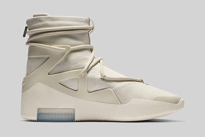 Nike Air Fear Of God 1 Light Bone Official 3